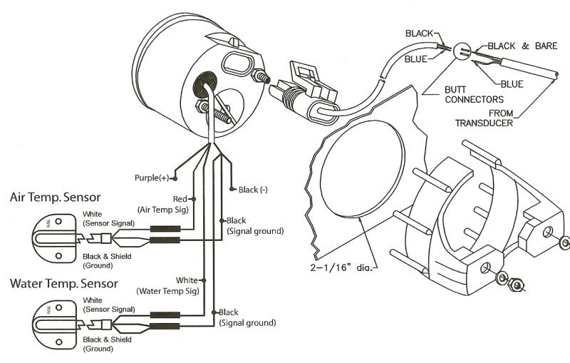 Faria Boat Tach Wiring - Wiring Diagram M2 on
